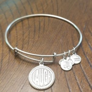 Alex and Ani bracelet- Laugh